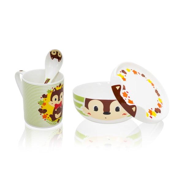 Dětský porcelánový set Happy Stuart