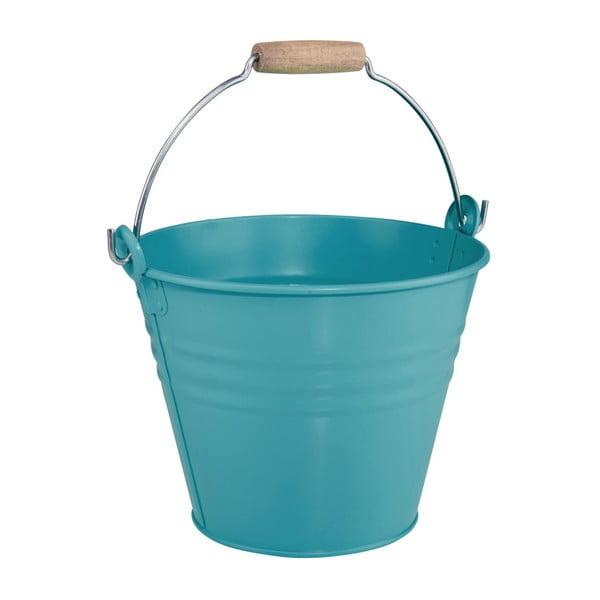 Ghiveci Butlers Zinc Bucket, 8 l, albastru