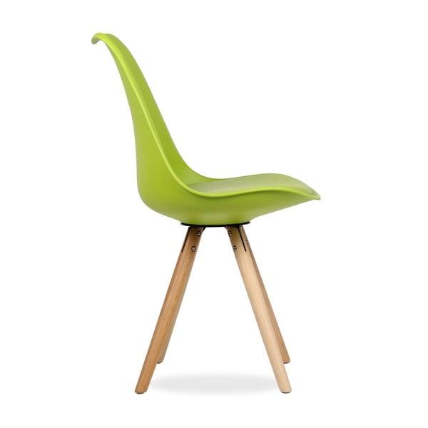 Židle Tulip Star Green