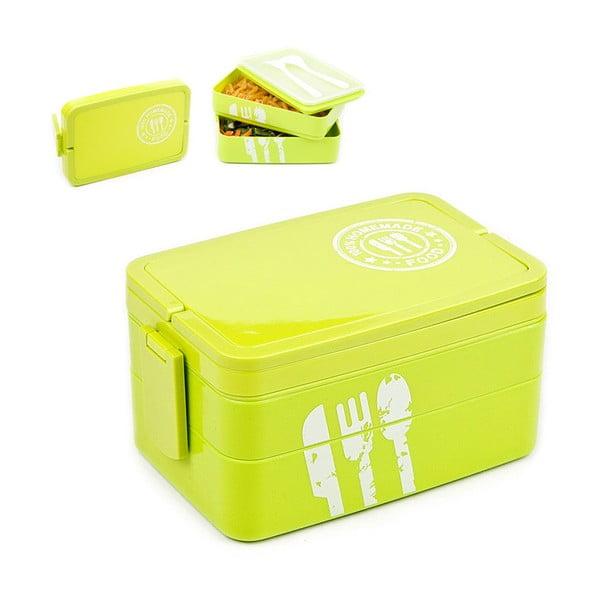 Lunch box Homemade Food, zelený