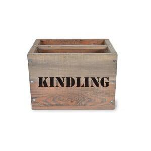 Krabice na třísky ze smrkového dřeva Garden Trading Kindling, 28 x 28 cm