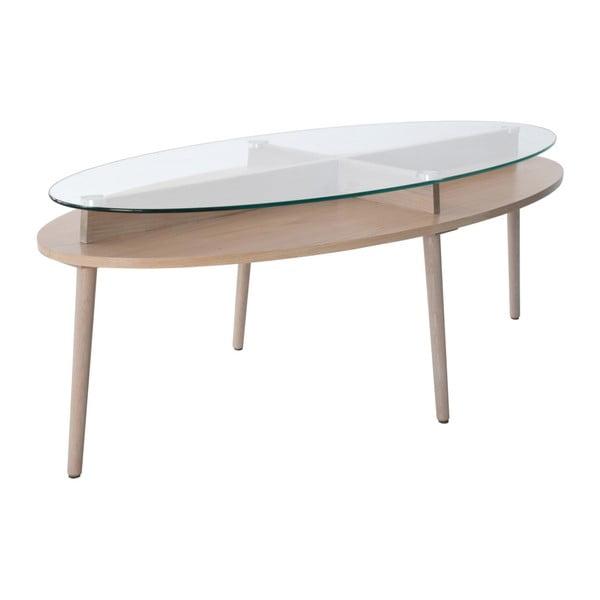Solo tölgyfa dohányzóasztal, szélesség 140 cm - RGE