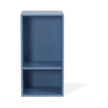 Etajeră Tenzo Z Halfcube, 36 x 70 cm, albastru imagine