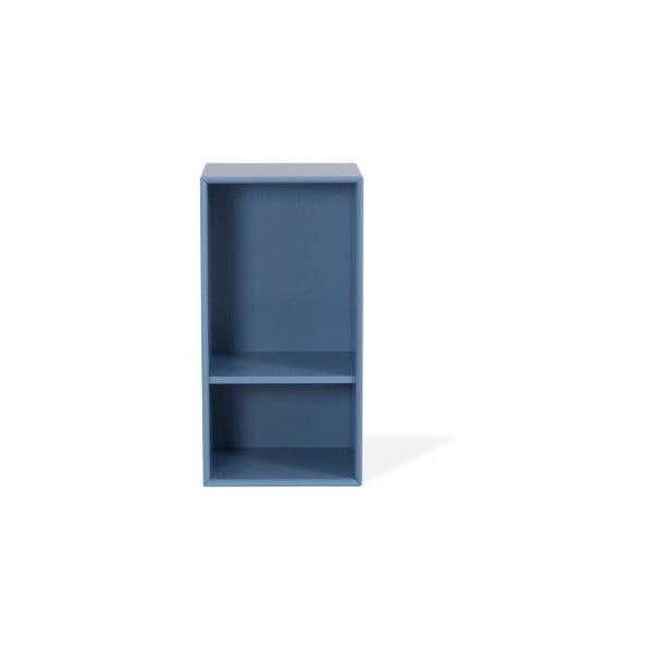 Modrá police Tenzo Z Halfcube, 36x70cm