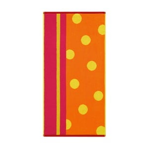 Ručník Punkte Kumquat, 70x140 cm