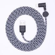 Nabíjecí kabel Lightning pro iPhone 5 a iPhone 6 Wooke Concrete,1,8 m