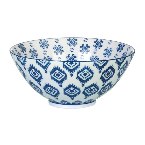 Porcelánová miska Ikat Blue