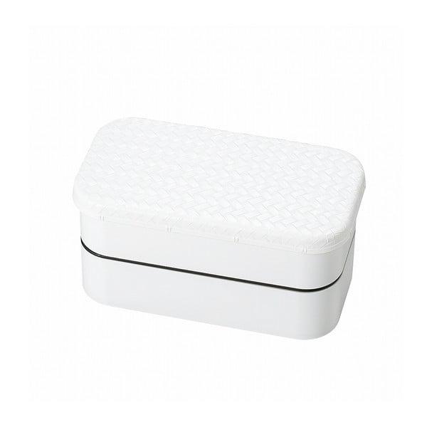 Bílý svačinový box Joli Bento B&W,1l