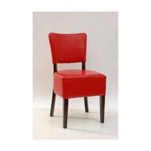 Červená jídelní židle SOB Bistro