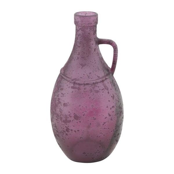 Bordeaux lila újrahasznosított üveg váza, ⌀ 12,5 cm - Mauro Ferretti