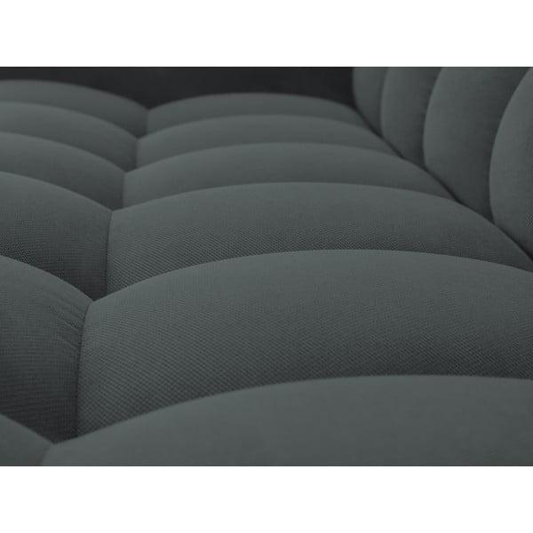 Tmavě šedá trojmístná pohovka Windsor & Co Sofas Moon