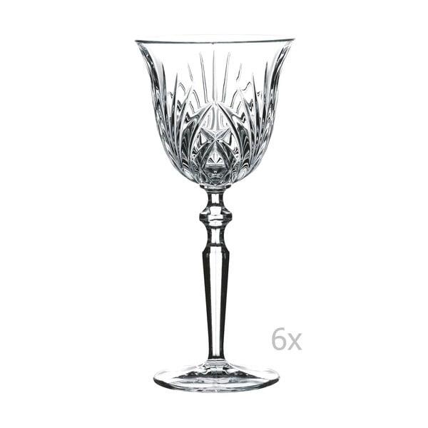 Sada 6 sklenic na červené víno z křišťálového skla Nachtmann Red Wine Goblet, 230 ml