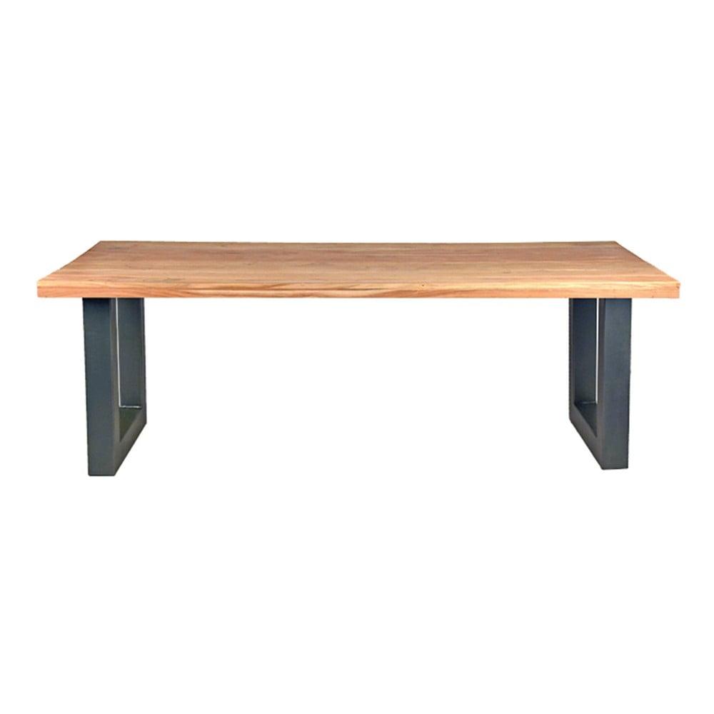 Jídelní stůl s deskou z akáciového dřeva LABEL51 Milaan, 200 x 95 cm