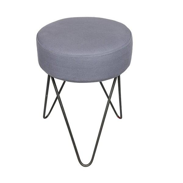 Stolička na sezení Orson, šedá