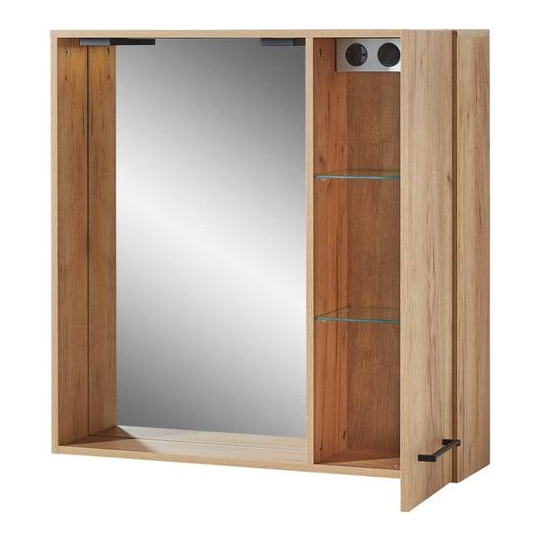 Nástěnné skříňka se zrcadlem Germania Gintano, 80 x 80 cm
