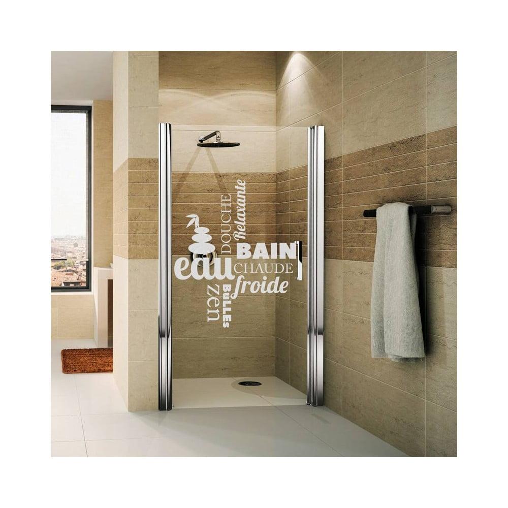Autocolant rezistent la ap pentru cabina de du for Stickers zen salle de bain