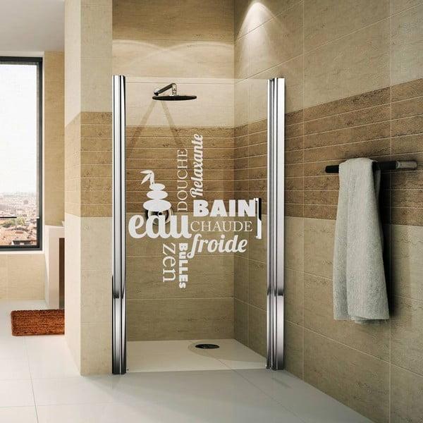 Autocolant rezistent la apă, pentru cabina de duș, Ambiance Zen