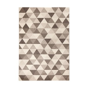 Covor Mint Rugs Diamond Triangle, 80 x 150 cm, bej