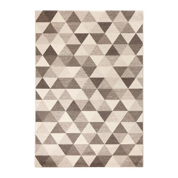 Béžový koberec Mint Rugs Diamond Triangle, 133x195cm