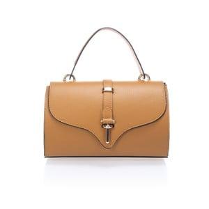 Kožená kabelka Markese 5258 Cognac
