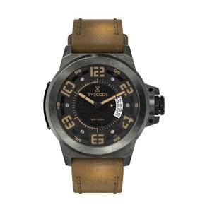 Pánské hodinky X-Rays 1895, Dark Grey/Brown/Black
