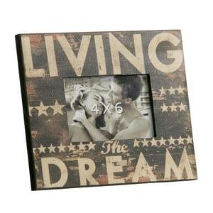 Fotorámeček Living the Dream, 18x23 cm
