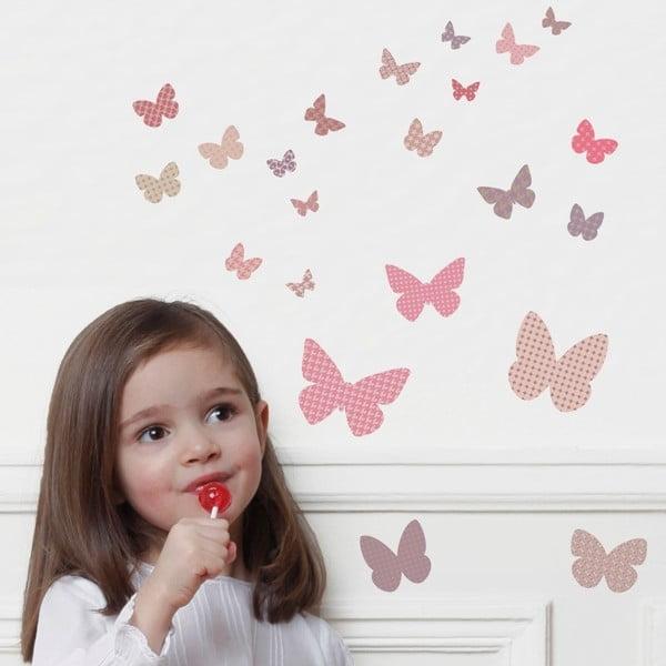 Nástěnné samolepky Art For Kids Butterflies