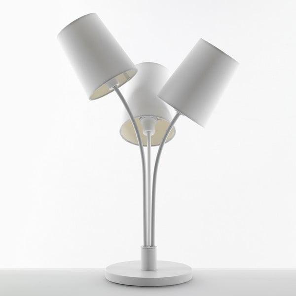 Bílá stolní lampa Tomasucci Tris