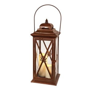 Felinar cu LED Best Season Lantern, maro