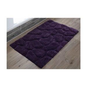 Koupelnová předložka Steine Violet, 60x100 cm