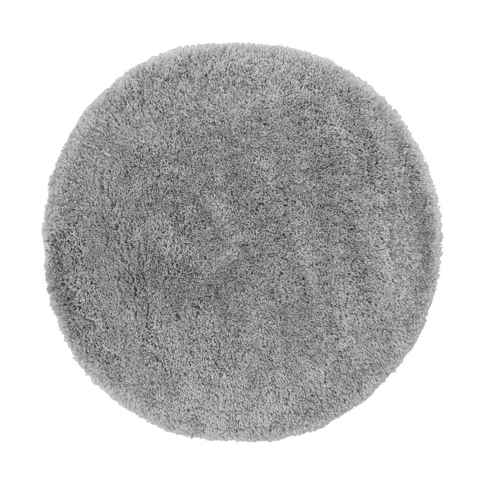 Šedý koberec Flair Rugs Sparks, ⌀ 133 cm