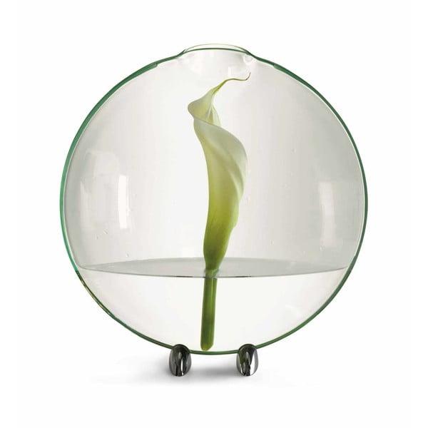 Skleněná váza Circle, 33 cm