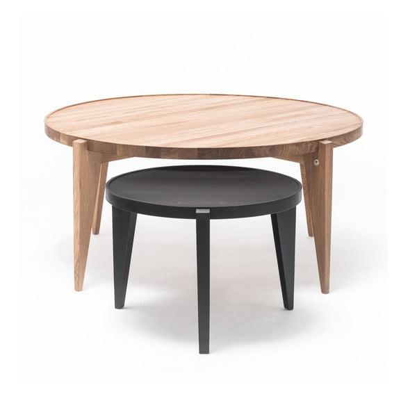 Dubový kávový stolek Bontri, 110x50 cm