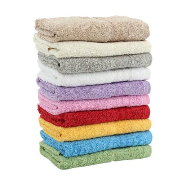 Sada 10 ručníků Rainbow, 30x50cm