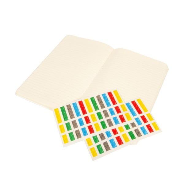 Zápisník Moleskine Lego White, linkovaný