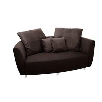 Canapea cu două locuri Florenzzi Viotti Brown