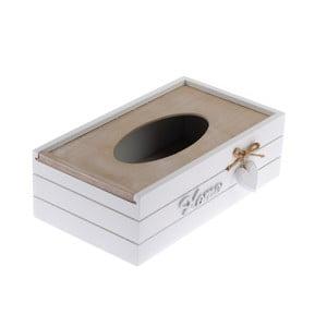 Dřevěný úložný box na kapesníky Dakls Rusto Retto
