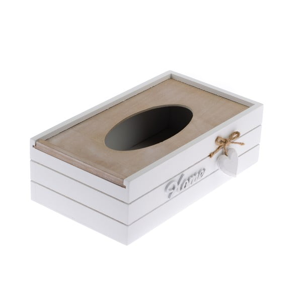 Drewniane pudełko na chusteczki Dakls Rusto Retto