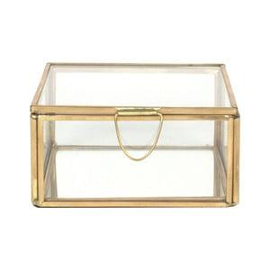Skleněná vitrínka ComingB Miroir, 11x11 cm