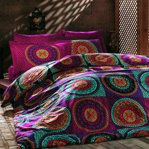 Lenjerie de pat Gipsy cu cearșaf, 200x220cm