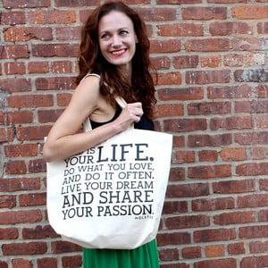 Plátěná taška Manifesto