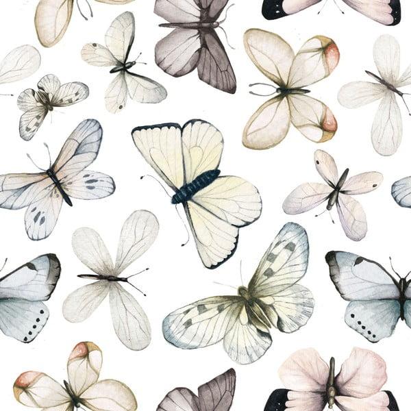 Tapet cu model cu fluturi Dekornik Butterflies, fluturi