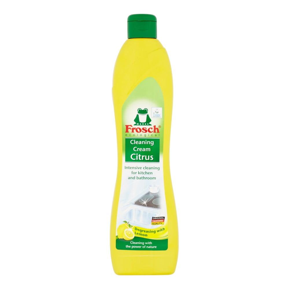 Tekutý písek do koupelny a kuchyně Frosch s vůní citronu, 500ml