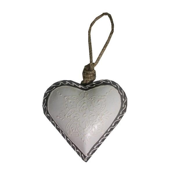 Dekorativní srdce Antic Line Light Heart, 10 cm