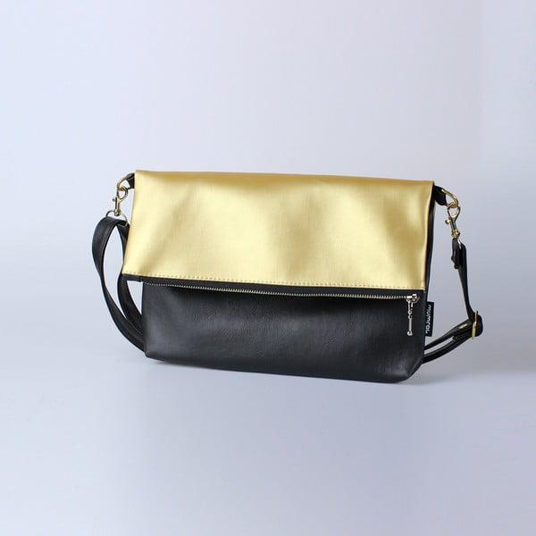 Taška Mum-ray Fold Gold Black