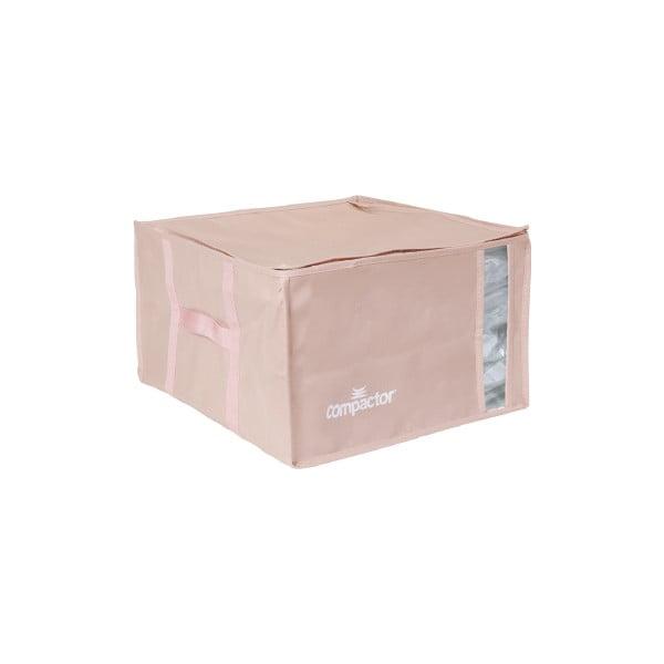 Różowy pojemnik na ubrania Compactor XXL Pink Edition 3D Vacuum Bag, 125 l