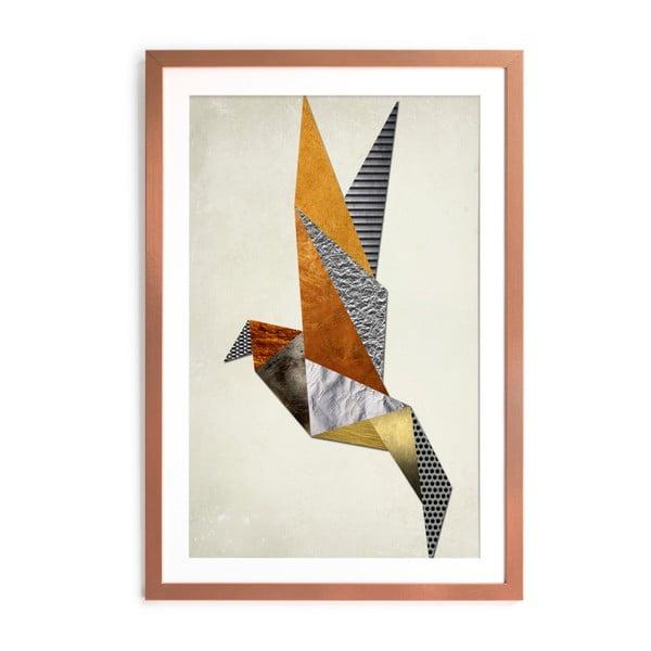 Zarámovaný plakát Really Nice Things Origami, 40x60cm