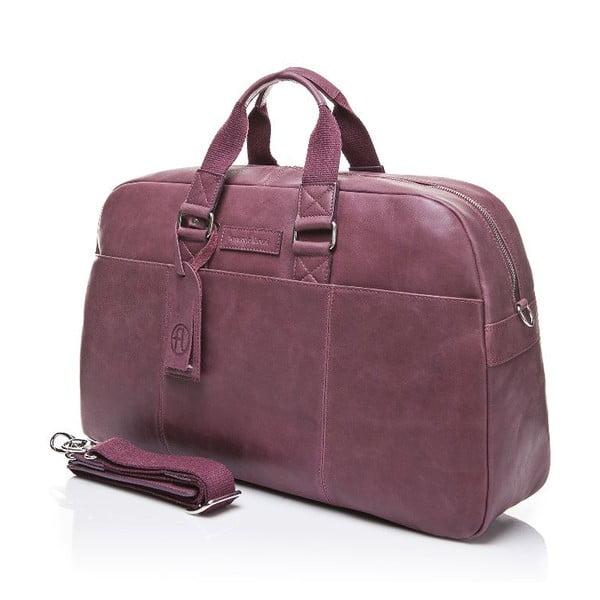 Pánská kožená taška Ferruccio Laconi 100 Bordeaux