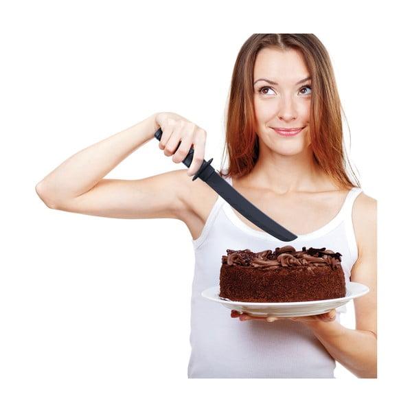 Servírovací nůž na dort Fred & Friends Cake Samurai