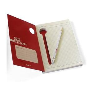 Zápisník s tužkou Suck UK Large Notebook